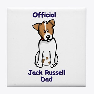 JR Dad Tile Coaster