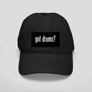 Got Drums? Black Cap