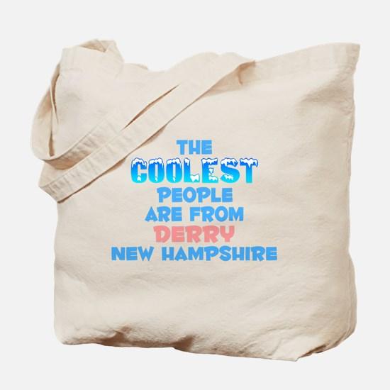 Coolest: Derry, NH Tote Bag