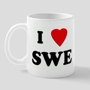 I Love SWE Mug