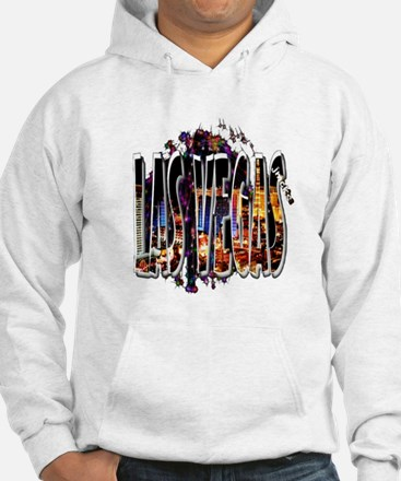 las vegas illustration art Sweatshirt