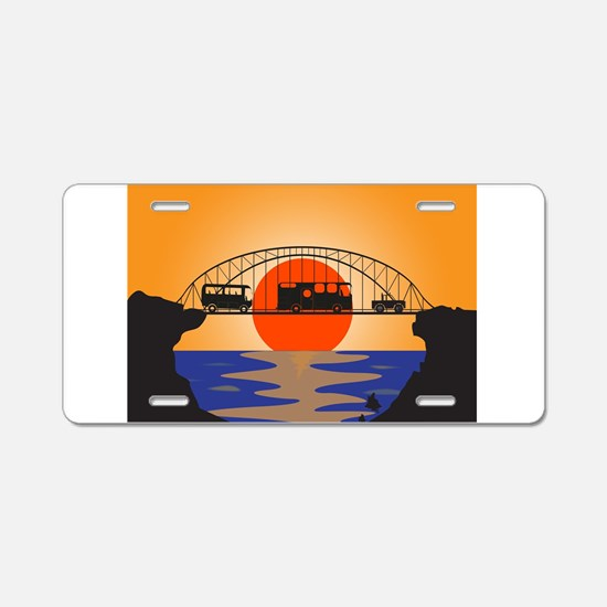 Holiday Vehicles Metal brid Aluminum License Plate