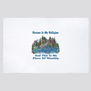 Nature Is My Religion 4' x 6' Rug