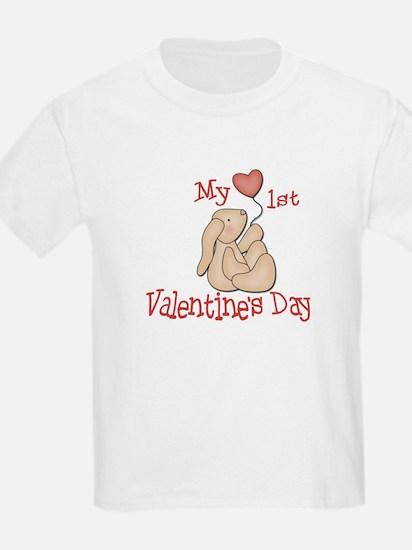 Baby's 1st Valentine's Day T-Shirt