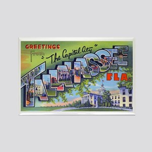 Tallahassee Florida Greetings Rectangle Magnet