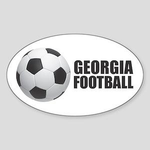 Georgia Football Sticker