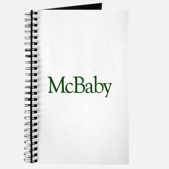 McBaby (Irish Baby) Journal