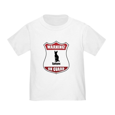 Sphynx On Guard Toddler T-Shirt