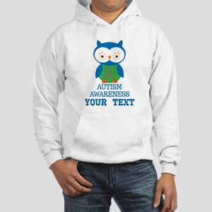 Autism Awareness Owl Personalized Sweatshirt