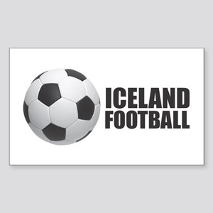 Iceland Football Sticker