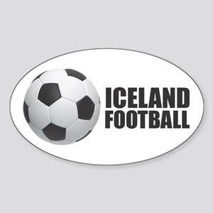 Iceland Football Sticker