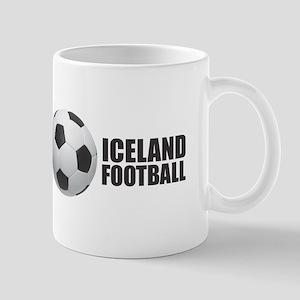 Iceland Football Mugs