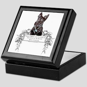 Scottish Terrier Friend Keepsake Box