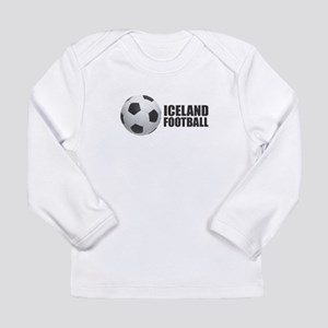 Iceland Football Long Sleeve T-Shirt