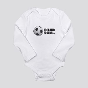 Iceland Football Body Suit