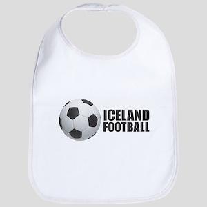 Iceland Football Baby Bib