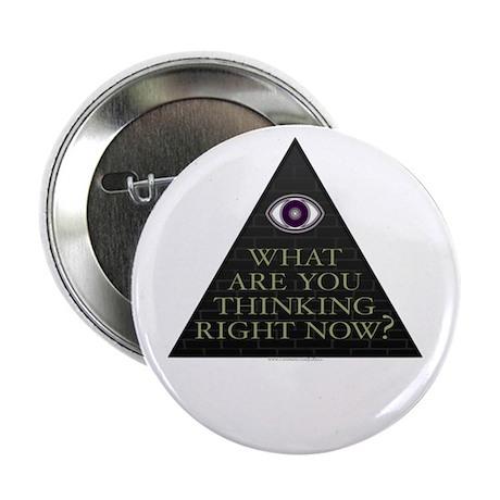 "Eye Think Discordian 2.25"" Button"