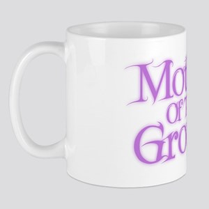 Mother Of The Groom - Pink Fa Mug