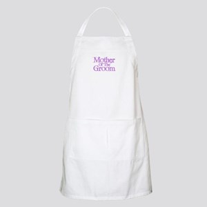 Mother Of The Groom - Pink Fa BBQ Apron