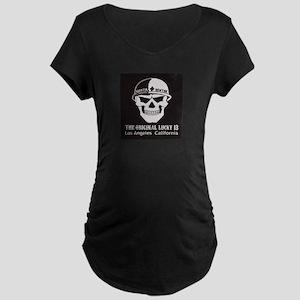 Shootin Newton Maternity Dark T-Shirt