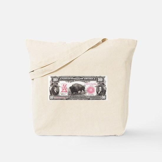 Buffalo Money Tote Bag