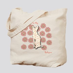 Sphynx Happiness Tote Bag