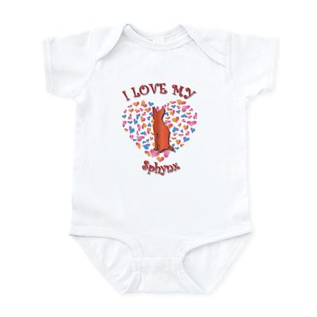 Love My Sphynx Infant Bodysuit