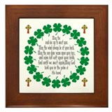 Irish blessing Framed Tiles