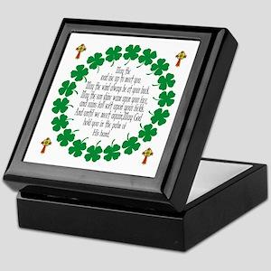 Irish Prayer Blessing Keepsake Box