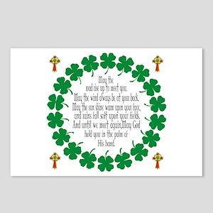 Irish Prayer Blessing Postcards (Package of 8)