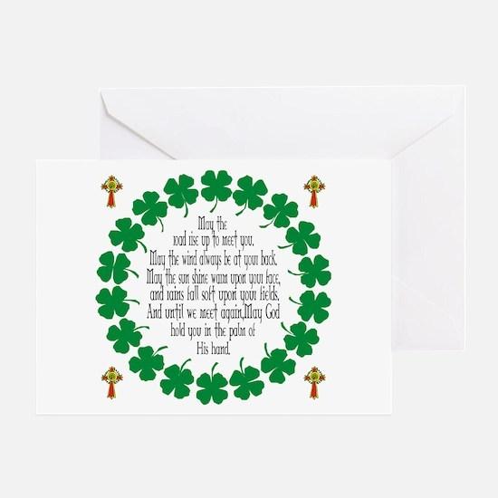 Irish Prayer Blessing Greeting Card