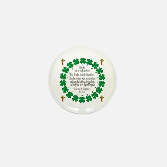 Irish Prayer Blessing Mini Button