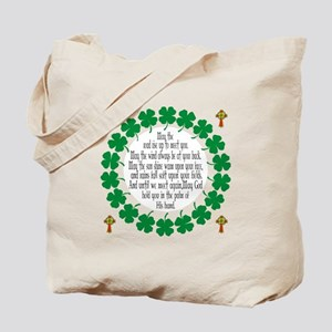Irish Prayer Blessing Tote Bag