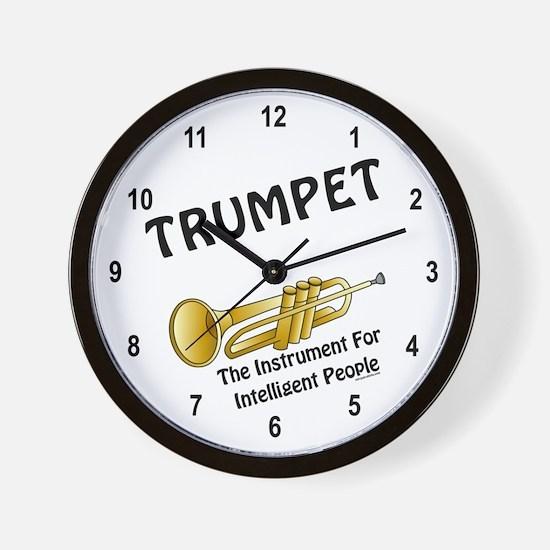 Trumpet Genius Wall Clock