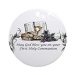 1st Communion Ornament (Round)