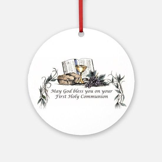 1st Communion Ornament (Round)