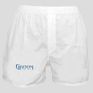 Groom - Blue Doom Boxer Shorts