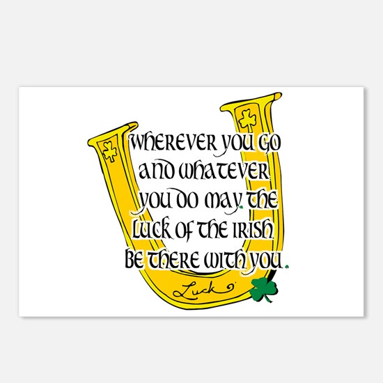 Irish Luck Blessing Postcards (Package of 8)