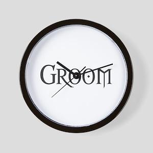 Groom - Gothic Morph Wall Clock