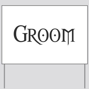 Groom - Gothic Morph Yard Sign