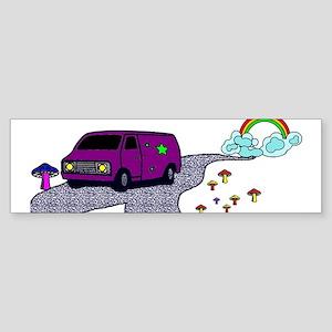 Hippie Van Bumper Sticker
