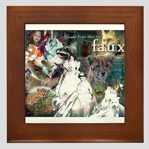Ladies Prefer Faux Framed Tile