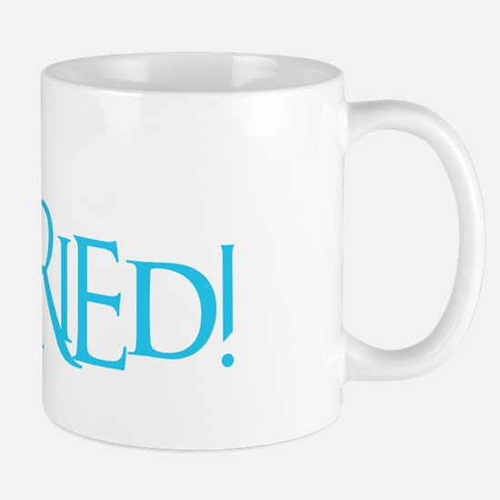 Just Married - Event Blue Mug