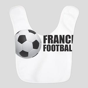 France Football Polyester Baby Bib