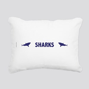 Sharks Rectangular Canvas Pillow