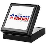 Vote for Bigfoot Keepsake Box