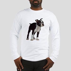 Boston Terrier Puppy Long Sleeve T-Shirt