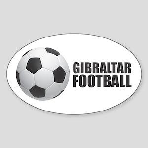 Gibraltar Football Sticker