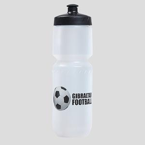 Gibraltar Football Sports Bottle
