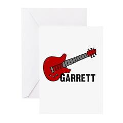 Guitar - Garrett Greeting Cards (Pk of 10)